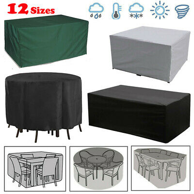 Heavy Duty Garden Patio Furniture Table Cover For Rattan Table Cube Outdoor Set • 11.15£