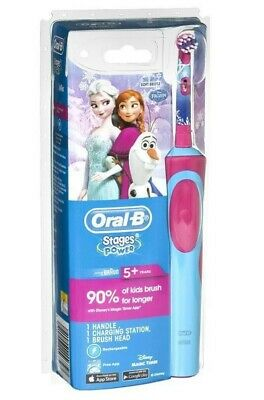 AU29.95 • Buy Extra Soft Oral-B Stages Power Kids Electric Toothbrush Kid Frozen FREE SHIP
