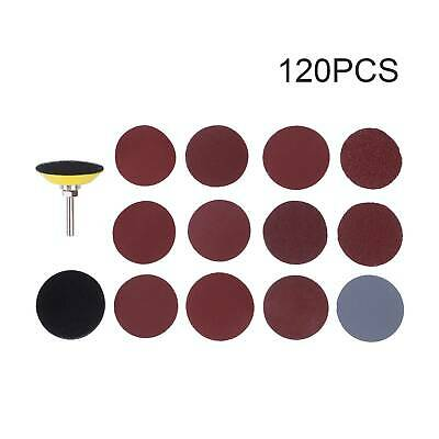 £6.99 • Buy 120PCS Sanding Discs Pads For Drill Grinder Rotary Tools+Backing Pad 2inch