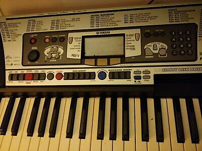 AU299 • Buy Retro Yamaha PSR-350 Working Keyboard, Portable Grand, DJ Mode And Floppy Disc