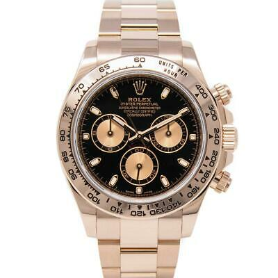 $ CDN56241.02 • Buy Rolex Men's Cosmograph Daytona Rose Gold 116505 Wristwatch - Black Index