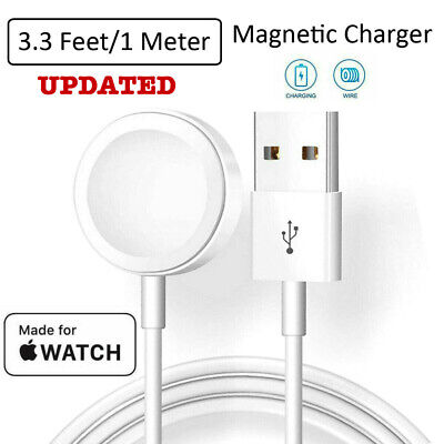 $ CDN11.72 • Buy For Apple Watch IWatch Series 1 2 3 4 5 Magnetic Charging Dock USB Cable Charger