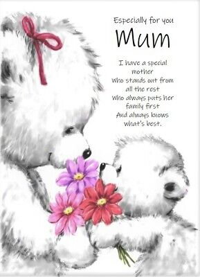 'Especially For You Mum' A5 Mum Card Birthday Love Keepsake Special Day • 3.99£
