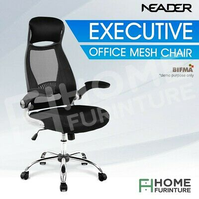 AU149.50 • Buy Ergonomic Gaming Racing High Back PU Leather Executive Office Computer Chair BK