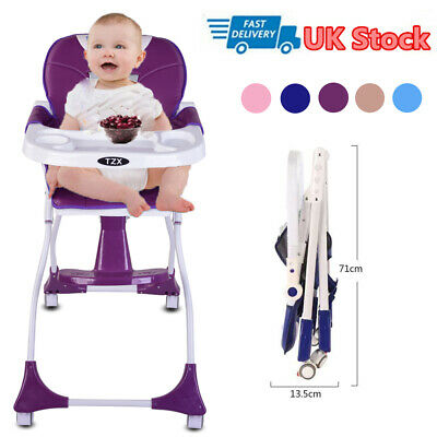 Travel Portable Baby High Chair Infant Child Foldable Toddler Feeding Seat UK • 39.99£