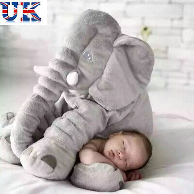 Soft Appease Elephant Playmate Calm Doll Toy Elephant Pillow Plush Toy Gift • 13.69£