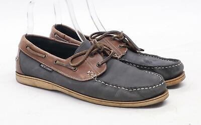 Yachtsman Mens UK Size 12 Brown Casual Shoes • 10£
