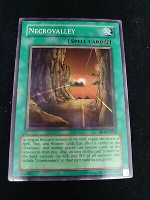 Yugioh Necrovalley Super Rare Near Mint Dr1-en032 • 3.90£