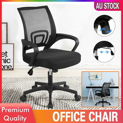 AU45.99 • Buy Office Chair Gaming Chair Computer Mesh Chairs Work Executive Seating Study Seat