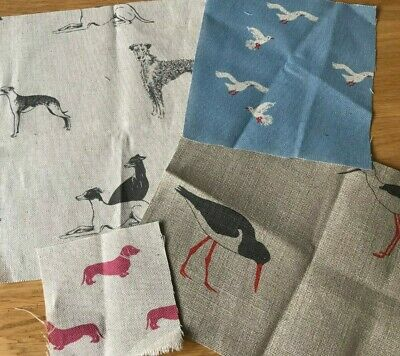 Emily Bond Linen Cushion Cover In Various Designs And Sizes • 20£