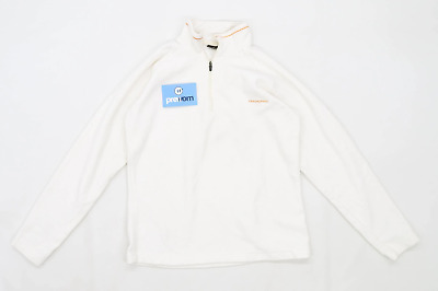 Craghoppers Womens Size 8 Cream Fleece Jacket • 10£