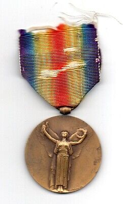 Ww1 France / French Victory Medal By Rare Maker • 40£