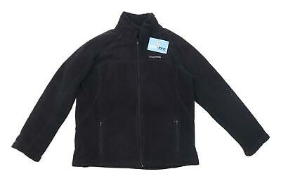 Craghoppers Womens Size 14 Fleece Blend Black Jacket • 10£