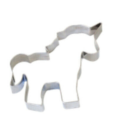 AU7.95 • Buy Unicorn COOKIE/Biscuit CUTTER STAINLESS STEEL Rust Resistant Fondant Icing