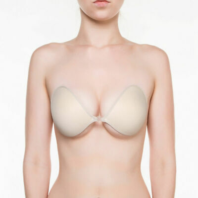 NuBra F700 Feather-Lite Adhesive Bra Cup AA A B C D E By Bragel Made In USA • 25.03£