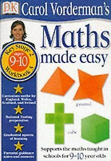 Maths Made Easy: Age 9-10 Bk.3 (Carol Vorderman's Mat... | Book | Condition Good • 2.98£