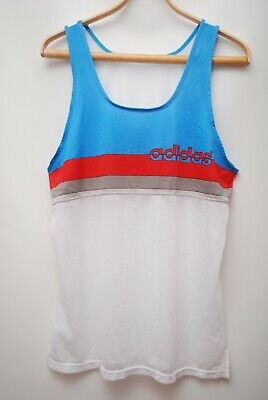 Adidas Vinage Rare Shirt Made West Germany Jersey Size L • 21.71£