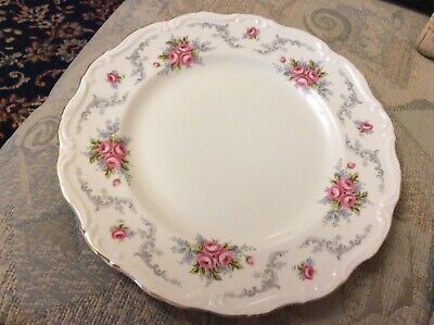 """ROYAL ALBERT""""TRANQUILITY""""DINNER PLATE 10in VGC 1st QUALITY • 6£"""