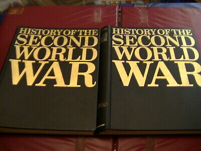 £25 • Buy Purnell's History Of The Second World War Magazines Volume 1 And 2 Folder 1966