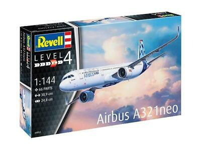Revell® 1:144 Airbus A321neo Model Aircraft Kit Model Plane Level 4 - 04952 • 25.99£