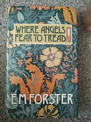 E M Forster Where Angels Fear To Tread 1988 Book Club Associates Hardback • 3£