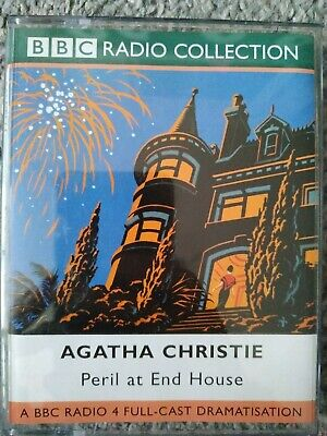 PERIL AT END HOUSE By AGATHA CHRISTIE Cassette AUDIO BOOK • 2£