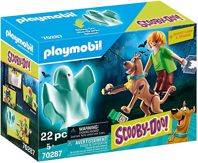 £10.23 • Buy Playmobil 70287 SCOOBY-DOO!© Scooby And Shaggy With Ghost Toy