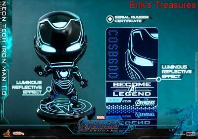 $ CDN118.28 • Buy Hot Toys Cosbaby Iron Man Neon Tech 1.0 Figure COSB600 NEW SEALED FROM HONG KONG