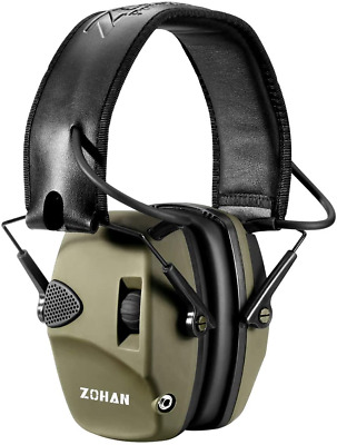 £41.10 • Buy ZOHAN 054 Electronic Shooting Ear Defenders, Active Noise Reduction Safety Sound