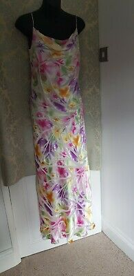 £40 • Buy After Six By Ronald Joyce Cocktail Cruise Dress Size 12 Multicolored Elegant