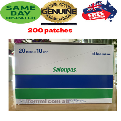 AU15.99 • Buy Salonpas Patch Hisamitsu Pain Relieving For Arthritis, Muscle, Backache, Joint