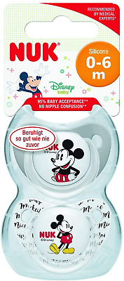 £6.53 • Buy NUK Disney Baby Dummies   0-6 Months   BPA-Free Silicone Soothers   Jessie & Toy
