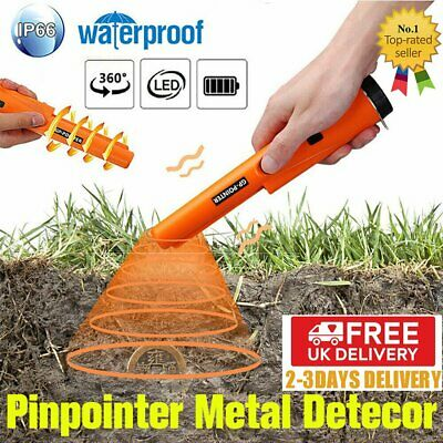Pro HandHeld Pinpointer Pin Pointer Probe Finder Metal Detector Automatic SALE • 16.92£