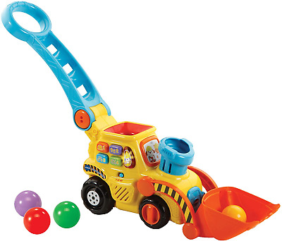 VTech POP And Drop Digger  Educational Push Along Digger For Toddler   Toy Gift • 25.47£