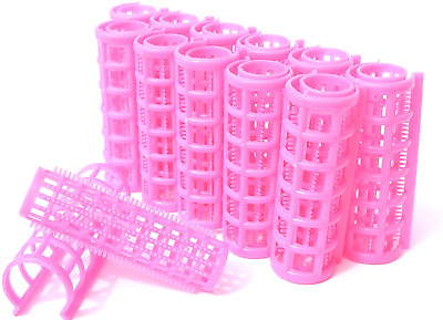Kamay's Medium Hair Rollers Comb Curlers Clips Styling Rollers Hair Curls Wave • 6.53£