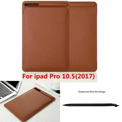 AU17.34 • Buy Ultra Slim Leather Cover Case For IPad Pro 10.5  2017 With New Pencil Holder