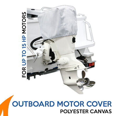 AU19.90 • Buy Outboard Boat Motor Engine Cover Fits Up To 15HP Engines