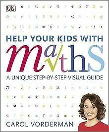 Help Your Kids With Maths By Carol Vorderman | Book | Condition Good • 4.48£