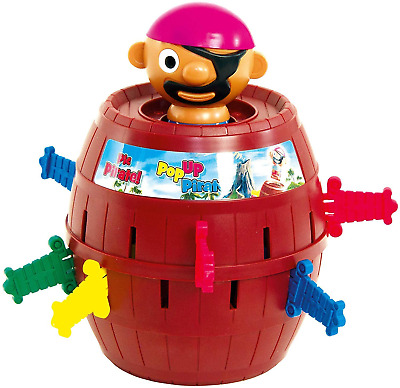 £12.55 • Buy TOMY Pop Up Pirate Classic Children's Action Board Game, Family & Preschool Kids