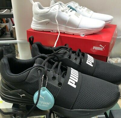 AU49.99 • Buy Mens Mesh PUMA Wired Shoes, Sneakers, Joggers, Runners. White Or Black
