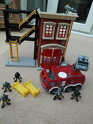 Fisher Price Imaginext Fire Station And Fire Engine  • 15.94£