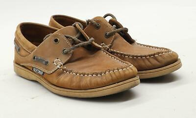 Yachtsman Mens UK Size 6 Brown Casual Shoes • 10£