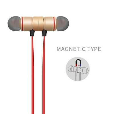 Bluetooth Wireless Headphones Magnetic Sports Gym Running Waterproof Earphones • 3.49£