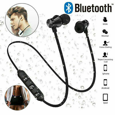 Wireless Bluetooth Headphones PREMIUM Sports Earphones For SAMSUNG IPHONE W/ Mic • 3.25£