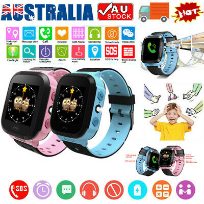 AU27.16 • Buy Kids Smart Watch Camera GSM SIM SOS Call Phone Game Watches For Boys Girls Gifts