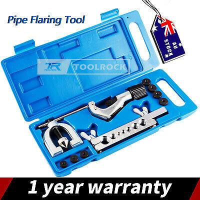 AU27.95 • Buy Toolrock Brake Line Double Flare Flaring Tool Kit Set DIY Tube Flaring Tool Kit