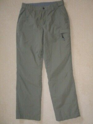 Berghaus Womens Khaki Thermal Lined Walking/outdoor Trousers Pants Size 10 • 23.99£