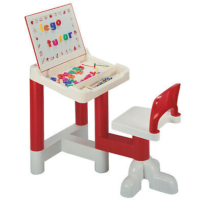 Kids Desk And Chair With Magnetic Dry Wipe Board - Children's Furniture • 27.32£