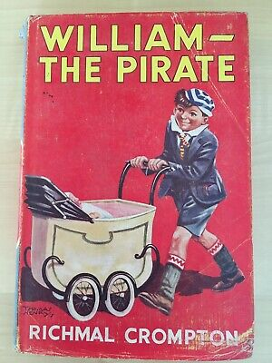 Vintage William - The Pirate Book By Richmal Crompton 1965 • 10£