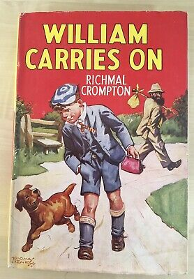 Vintage William Book - William Carries On By Richmal Crompton 1963 • 15£